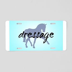 Sidepass w/ Text (blue) Aluminum License Plate