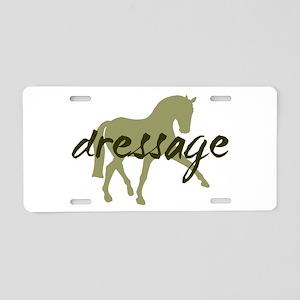 Sage Sidepass Dressage Aluminum License Plate