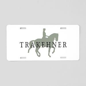 Piaffe - Trakehner Aluminum License Plate
