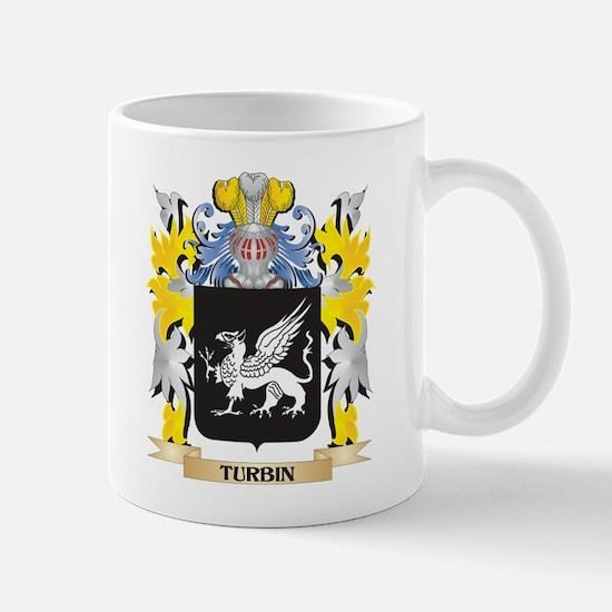 Turbin Family Crest - Coat of Arms Mugs