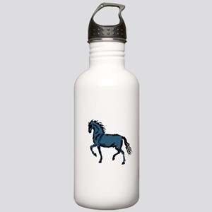 Baroque Horse Woodblock Stainless Water Bottle 1.0