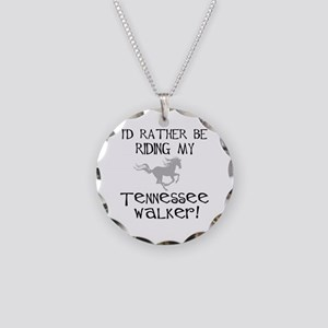 Rather-Tennessee Walker Necklace Circle Charm