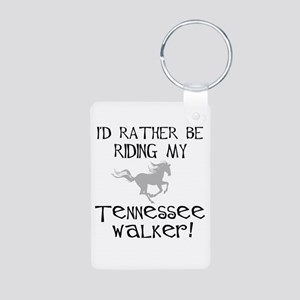 Rather-Tennessee Walker Aluminum Photo Keychain
