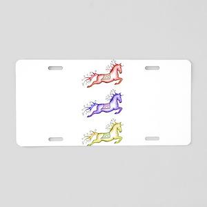 Capriole Horses Aluminum License Plate