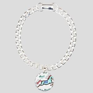 My Birthday Joy Horse Charm Bracelet, One Charm