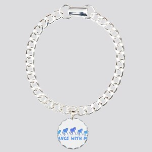 dance with me horse Charm Bracelet, One Charm