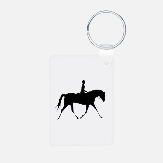 Horse & Rider Keychains