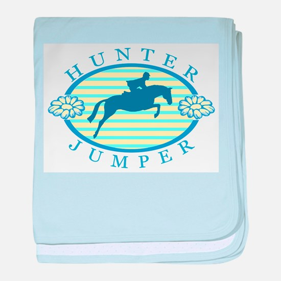 Cute Horse trainer baby blanket