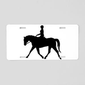 Horse Rider Aluminum License Plate