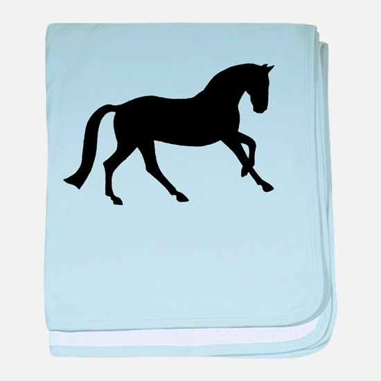 Cantering Horse baby blanket