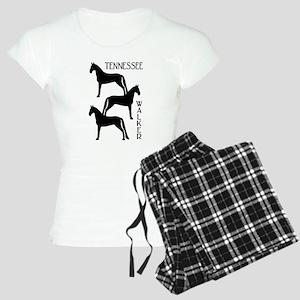 Tennessee Walkers Trio Women's Light Pajamas