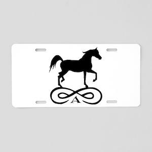 Infinity Arabian Horse Aluminum License Plate