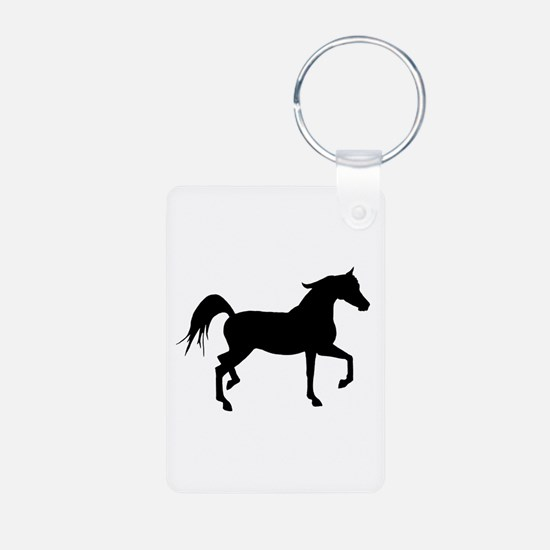 Arabian Horse Silhouette Keychains