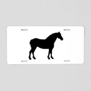 Draft Horse Aluminum License Plate