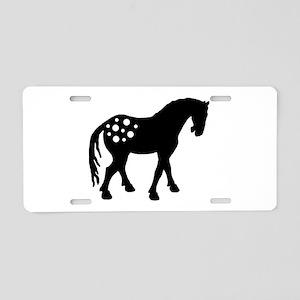Cute Appaloosa Aluminum License Plate