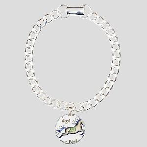 Happy Birthday! Horse Charm Bracelet, One Charm