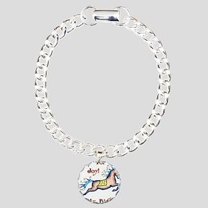 Joy Birthday Horse Charm Bracelet, One Charm