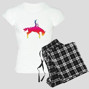 Rainbow Cowgirl Women's Light Pajamas