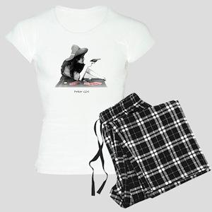 poker girl Women's Light Pajamas