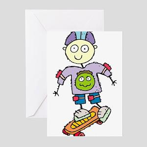 Skateboard Greeting Cards (Pk of 10)