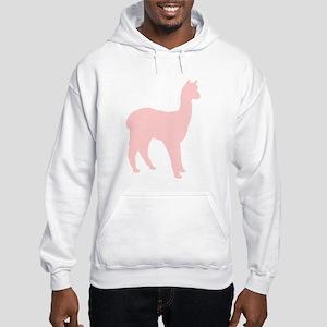 Alpaca (Style #2) Color Hooded Sweatshirt