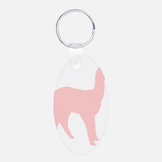 Alpaca (Style #2) Color Keychains