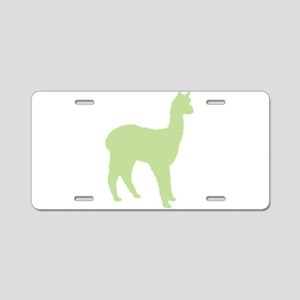 Alpaca (Style #2) Color Aluminum License Plate