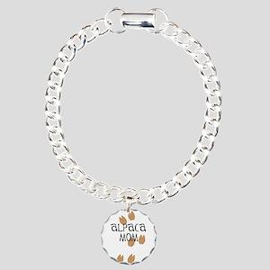Alpaca Mom Charm Bracelet, One Charm
