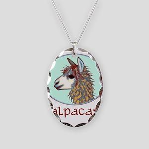 alpaca annie's Necklace Oval Charm