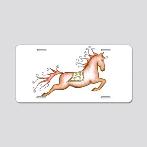 Capriole Horse Aluminum License Plate