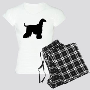 Afghan Hound Dog Women's Light Pajamas