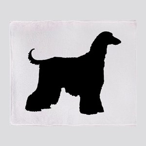 Afghan Hound Dog Throw Blanket