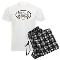 Airedale Dad Oval Pajamas
