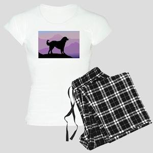 Akbash Purple Mountains Women's Light Pajamas