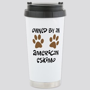 Owned By An American Eskimo Stainless Steel Travel