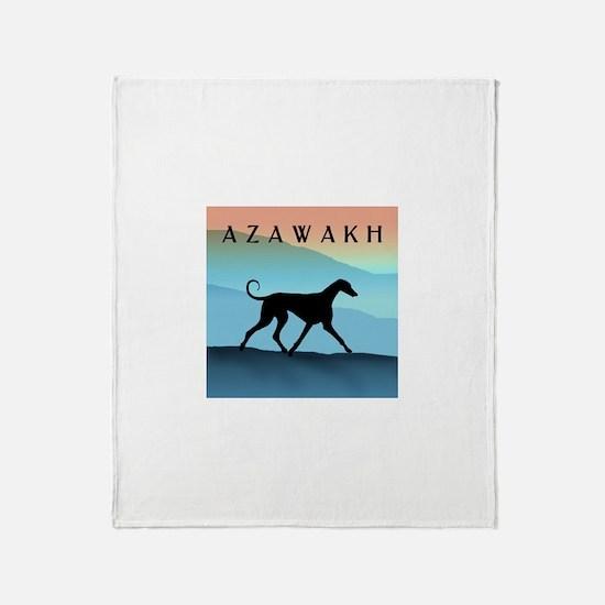 Blue Mountains Azawakh Throw Blanket