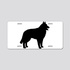 Belgian Sheepdog Aluminum License Plate