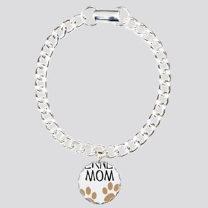 Big Paws Berner Mom Charm Bracelet, One Charm