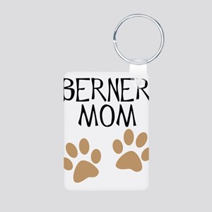 Big Paws Berner Mom Aluminum Photo Keychain