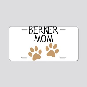 Big Paws Berner Mom Aluminum License Plate