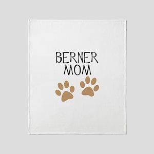 Big Paws Berner Mom Throw Blanket