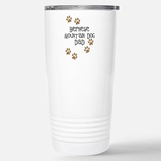Bernese Mt. Dog Dad Stainless Steel Travel Mug