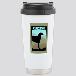 Craftsman Borzoi Stainless Steel Travel Mug