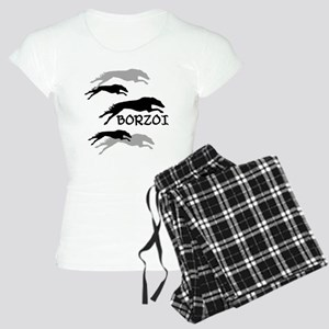 Many Borzois Running Women's Light Pajamas