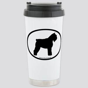 Bouvier Oval Stainless Steel Travel Mug