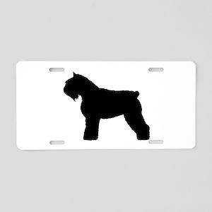 Bouvier des Flandres Dog Aluminum License Plate