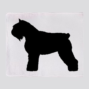 Bouvier des Flandres Dog Throw Blanket