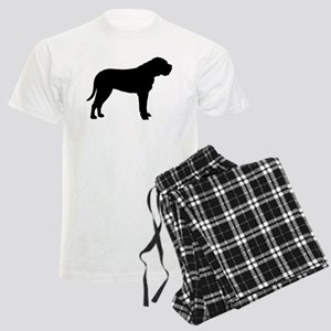 Bullmastiff Dog Breed Men's Light Pajamas