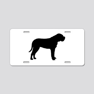 Bullmastiff Dog Breed Aluminum License Plate