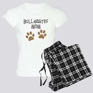 Bullmastiff Mom Women's Light Pajamas